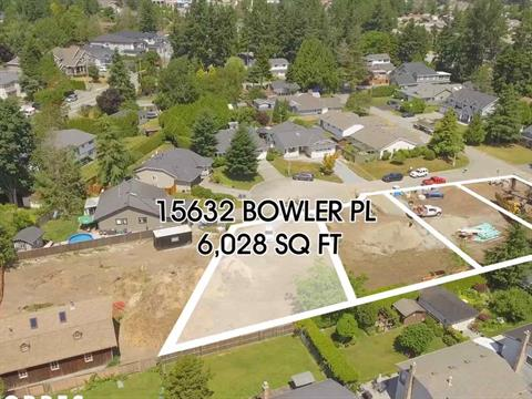 Lot for sale in King George Corridor, Surrey, South Surrey White Rock, 15632 Bowler Place, 262406600 | Realtylink.org