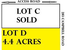 Lot for sale in Lakeshore, Charlie Lake, Fort St. John, Lot D 283 (Campbell) Road, 262424219 | Realtylink.org