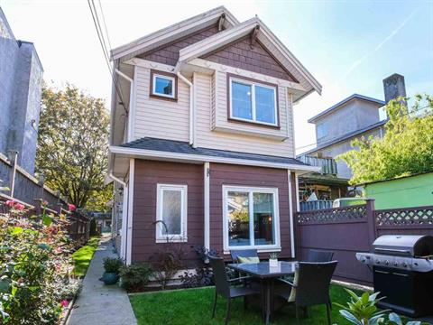 1/2 Duplex for sale in Hastings Sunrise, Vancouver, Vancouver East, 2151 Triumph Street, 262434573   Realtylink.org