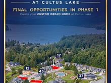 Lot for sale in Lindell Beach, Cultus Lake, Cultus Lake, 12 1885 Columbia Valley Road, 262434916 | Realtylink.org