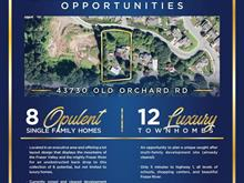 Lot for sale in Chilliwack Mountain, Chilliwack, Chilliwack, 43730 Old Orchard Road, 262435192 | Realtylink.org