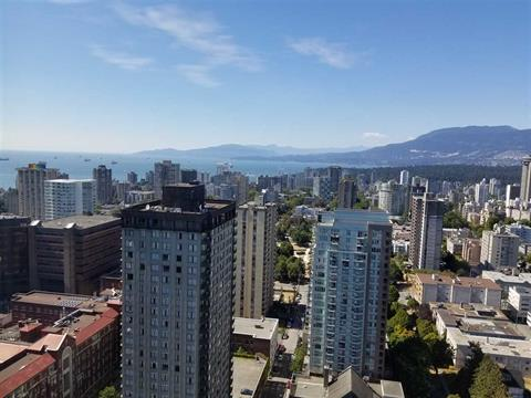 Apartment for sale in Downtown VW, Vancouver, Vancouver West, 3301 938 Nelson Street, 262317016 | Realtylink.org