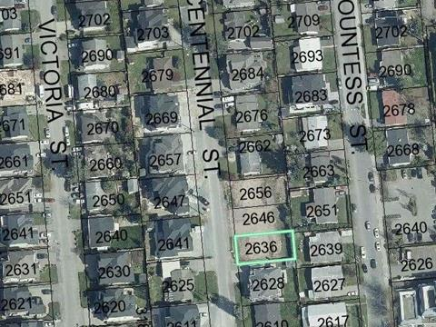 Lot for sale in Abbotsford West, Abbotsford, Abbotsford, 2636 Centennial Street, 262371236 | Realtylink.org