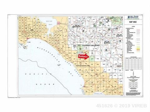 Lot for sale in Ucluelet, PG Rural East, Dl 404 Alaska Pine (Off) Road, 451626 | Realtylink.org
