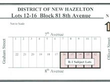 Lot for sale in Hazelton, New Hazelton, Smithers And Area, Lots 12-16 E 8 Avenue, 262314436 | Realtylink.org