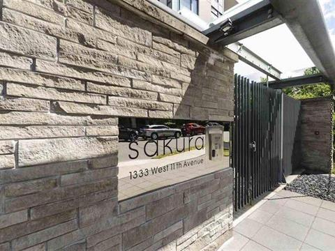 Apartment for sale in Fairview VW, Vancouver, Vancouver West, 1107 1333 W 11th Avenue, 262429514 | Realtylink.org