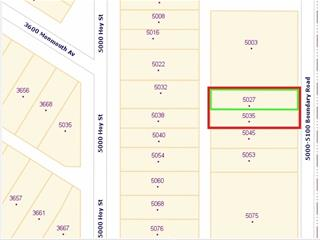Lot for sale in Collingwood VE, Vancouver, Vancouver East, 5027 Boundary Road, 262439471 | Realtylink.org