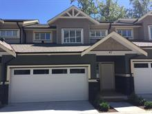 Townhouse for sale in Cottonwood MR, Maple Ridge, Maple Ridge, 47 11252 Cottonwood Drive, 262450948 | Realtylink.org