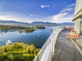 Apartment for sale in Coal Harbour, Vancouver, Vancouver West, 2601 1233 W Cordova Street, 262453141 | Realtylink.org