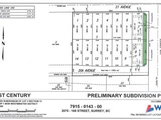 Lot for sale in Grandview Surrey, Surrey, South Surrey White Rock, 16791 20a Avenue, 262451481 | Realtylink.org