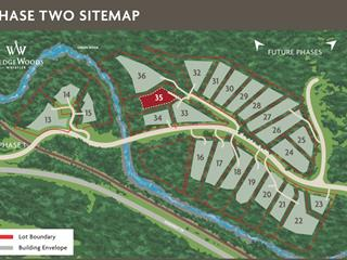 Lot for sale in WedgeWoods, Whistler, Whistler, 35 9076 Corduroy Run Court, 262163192 | Realtylink.org