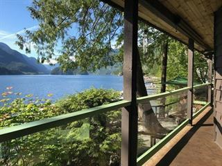 House for sale in Indian Arm, North Vancouver, North Vancouver, 31 Johnson Bay, 262451641 | Realtylink.org